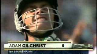 May 23, 2013 ... Harbhajan Singh  First Indian Test Bowler Took a Hat Trick Against Australia  nDon't Miss It - Duration: 2:36. ... Harbhajan Singh Hat-trick vs Australia nEXTENDED SPELL + Classic Tony Greig Commentary  KOLKATA 2001 ...
