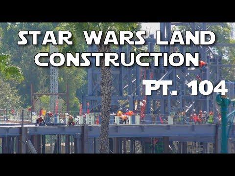 Galaxy's Edge Construction - Unplugged - Pt. 104 | 07-26-2017 (видео)