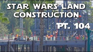 Galaxy's Edge Construction - Unplugged - Pt. 104  07-26-2017Limited access today due to the refurb work going on at the parking structure.  Couldn't get to our usual spot.  But boy was there a lot of action at the Millennium Falcon building!AND I WILL NEVER EVER EVER EVER NEVER GET A DRONE AND FLY IT OVER STAR WARS LAND OR ANY OTHER PART OF DISNEYLAND.  NEVER EVER.  STOP ASKING.Support us on Patreon: http://bit.ly/2mMJoQMFresh Baked Presents: http://bit.ly/2e7kh6jLady Romey: http://bit.ly/28Zk9U8Duke of Dork: http://bit.ly/29m1RMAFresh Baked Games: http://bit.ly/2nraPfZSpecial thanks to our Producers:Robert J. HoltzFind us also at:  Web: http://www.freshbakeddisney.comTwitter: @frshbakeddisneyFacebook: facebook.com/freshbakeddisneyInstagram: @FreshBakedDisney Google+: https://plus.google.com/u/0/b/1045443...Send us mail at PO Box 1519, Tustin, CA 92780Intro music courtesy of Kevin MacLeod and incompetech.com. All video is shot on location in HD at #Disneyland and Disney's California Adventure.Fresh Baked is the leading authority on how to have a good time at  Disneyland.  We provide weekly reports from the parks, special features about the secrets and history, news, top 10's and more!  Subscribe today to get the best of Disney baked fresh daily.