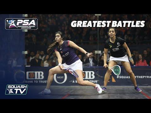 Squash: Nour El Sherbini v Raneem El Welily - Greatest Battles