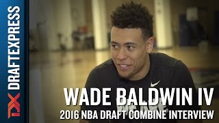 Wade Baldwin 2016 NBA Pre-Draft Workout Video