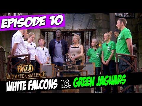 White Falcons Vs. Green Jaguars | Series 5, Episode 10 | Fort Boyard: Ultimate Challenge