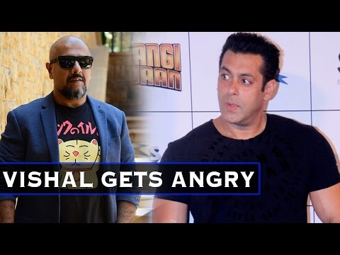 OMG! Vishal Dadlani Gets ANGRY When Asked About Sa