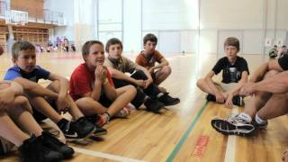 Latvia Basketball Camp - 2012 - Day 1