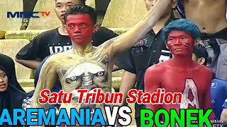 Video AREMANIA VS BONEK || KAMI TAK GENTAR SEDIKITPUN (Arema vs Persebaya) MP3, 3GP, MP4, WEBM, AVI, FLV Januari 2019