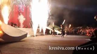 Фаер шоу (огненное шоу ) Kresiva - небольшое выступление СТВ.