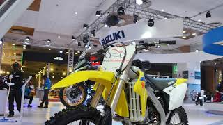 10. 2018 Suzuki RM-Z250 first look | 2018 Suzuki RM Z250 at 2018 India Auto Expo