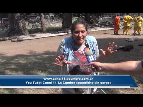 TREMENDO INCENDIO EN LAS SIERRAS: INCENDIOS : NOTA A ALEJANDRA JUAREZ DE PROYECTO CARAYA