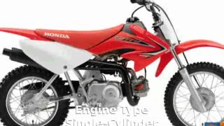 4. 2005 Honda CRF 70F Specification and Features
