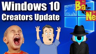 Microsoft released the Windows 10 Creators Update today that includes a lot of cool new features but also still presents some concerns ranging from changing ...