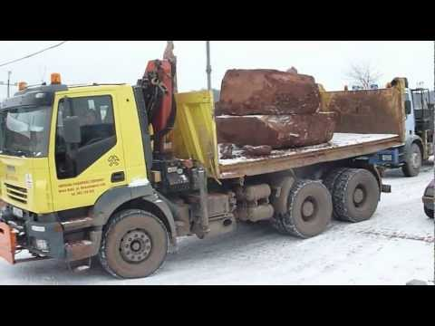 transport kamienia
