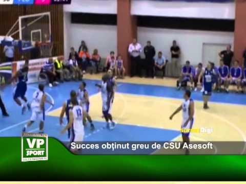 Succes obținut greu de CSU Asesoft