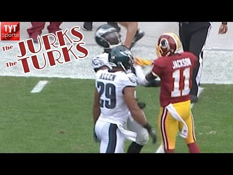 Desean Jackson - The most exciting game from an offensive standpoint was between the Washington Redskins and the Philadelphia Eagles. DeSean Jackson, who was drafted by the E...