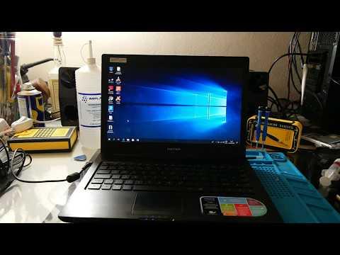 Notebook Positivo com Celeron B800 voando com windows 10 lite!!!
