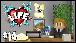 RECEPTIONIST OF THE MONTH!!   Minecraft X Life SMP   #14