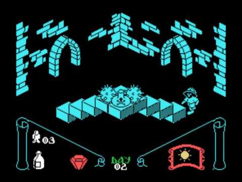 Knight Lore for the TI-99/4A
