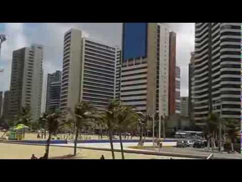 Praia de Iracema em Fortaleza Ceará Brasil