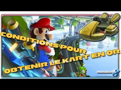 Mario Kart 8 - Comment obtenir le Kart en Or ? (Wii U)