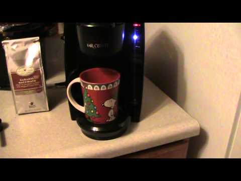 Mr. Coffee Single Serve Coffee Brewer