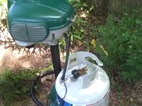 Mosquito Magnet MM4100 Patriot Mosquito Trap - chemical free way to eliminate mosquitoes