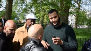 Video Gay Man Swears and Spits in Debate VS Muslim MP3, 3GP, MP4, WEBM, AVI, FLV Desember 2018