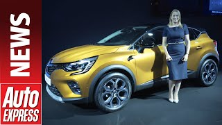 New 2020 Renault Captur E-Tech concept - popular crossover gets plug-in hybrid tech by Auto Express