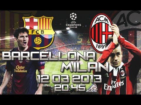 Milan - Barcellona PROMO 22/10/2013