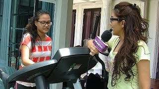 Video Ashanty Ajarkan Aurel Rutin Olahraga - Intens 10 April 2014 MP3, 3GP, MP4, WEBM, AVI, FLV April 2019