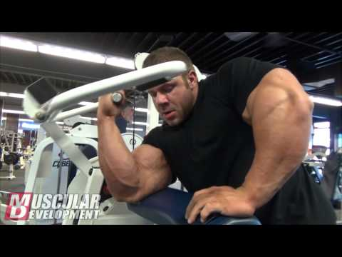 IFBB - IFBB Pro Justin Compton trains back and biceps while guest posing in Alaska. For the latest videos from Justin visit the MD website: http://goo.gl/u1EnEd.