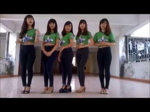 Nữ Sinh Đại học Công Nghiệp HN nhảy cực đỉnh