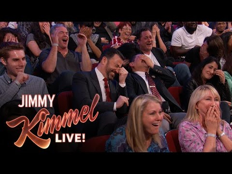 A clip so disgusting Kimmel refused to show it on TV