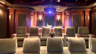 Домашний кинотеатр в программе Дизайн интерьеров