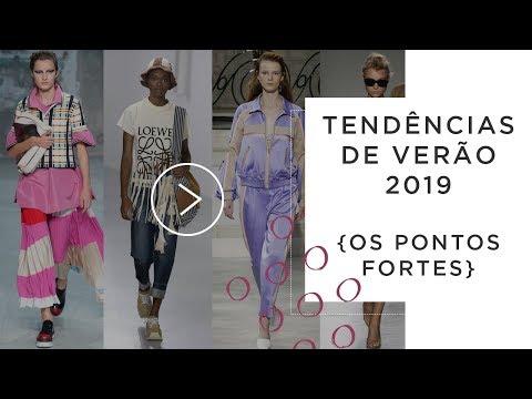 Tendências de Verão 2019 - Os pontos fortes видео
