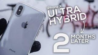 iPhone X Spigen Ultra Hybrid Case 2 Month Later