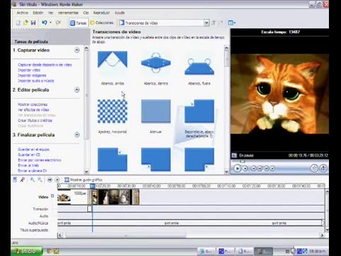 Video 4 de Windows Movie Maker: Hacer un video con imágenes y música de fondo