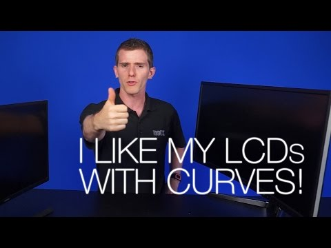 Curved Monitors Explained! Ft. BENQ XR3501 & Samsung SE510C