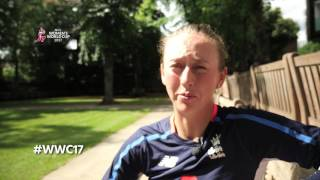 As they stand on the cusp of World Cup glory, the England Cricket​ women send their love, thanks and acknowledgement to those who have helped drive them throughout their cricket careers.