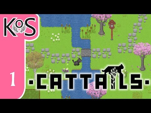 Cattails Ep 1: WHAT IF STARDEW VALLEY WAS CAT-SHAPED?  - Let's Play, Gameplay