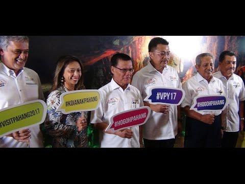 Pelancaran Promosi Tahun Melawat Pahang 2017