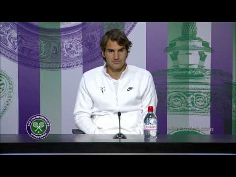 roger - Roger Federer answers questions after his Gentlemen's Singles loss to Novak Djokovic. Watch more exclusive content at http://www.wimbledon.com/en_GB/interact...