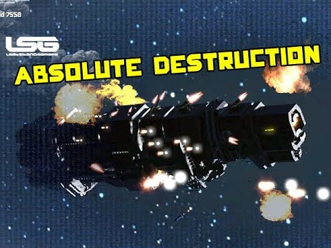 Space Engineers - Absolute Destruction Ship Battle