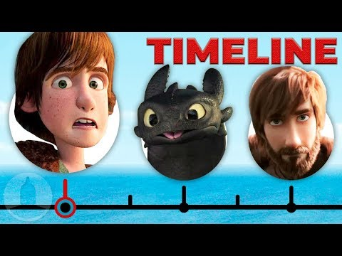 The Complete How To Train Your Dragon Timeline   Channel Frederator