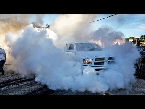 8,000 lbs dodge ram pickup vs 15,000 lbs dumpster
