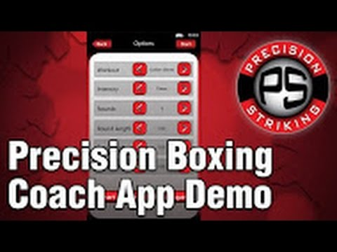Video of Precision Boxing Coach Supreme