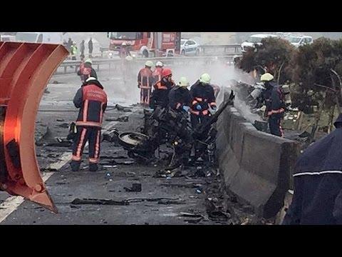 Κωνσταντινούπολη: Συντριβή ελικοπτέρου με τουλάχιστον πέντε νεκρούς