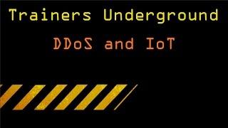TU DDoS and IoT