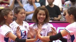 Thailand vs Brazil - Volleyball World Grand Prix 2017 #WGP2017.