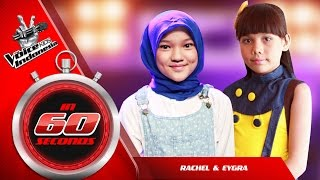 Download Lagu Rachel & Eygra | The Blind Auditions | The Voice Kids Indonesia GlobalTV 2016 Mp3