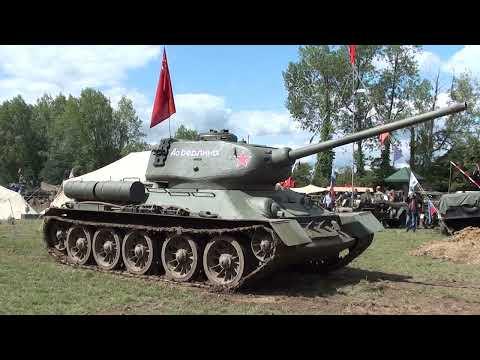 Т-34 в Англии на шоу