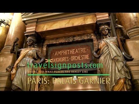 Palais Garnier – live tour of the Grand Paris Opera House